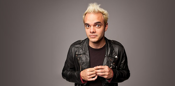 Michael Workman's Publicity Photo. Though, his hair is a new colour now.