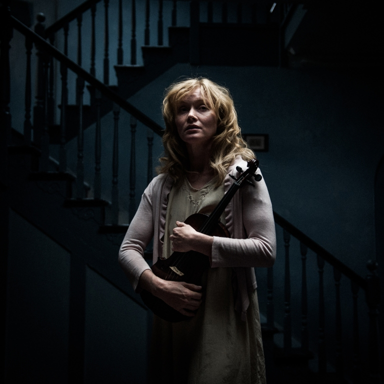 Essie Davis as haunted mother Amelia in 'The Babadook'