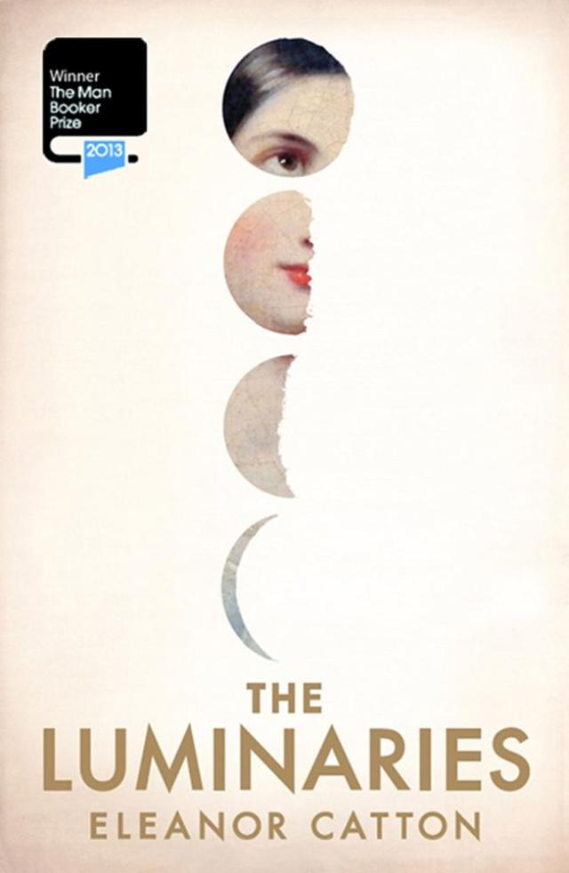 Cover for the Australian edition of 'The Luminaries' by Eleanor Catton