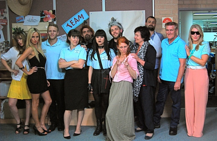 The cast of 'Town Centre'